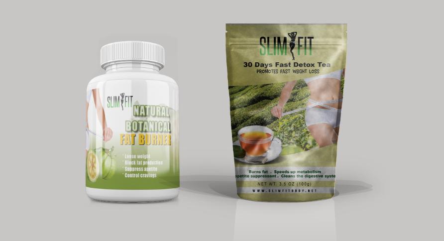 Slimfit Pills Amp Slimfit 30days Detox Tea Combo Slim Fit Body